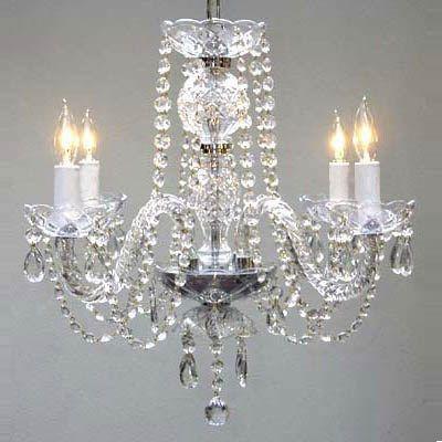 Gallery Lighting 275 4 Light Crystal Chandelier