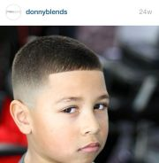 fade haircut boys kids boy's