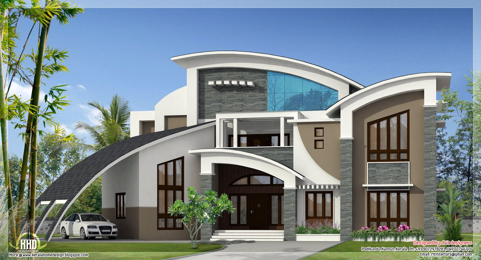 Unique Homes Unique Super Luxury Kerala Villa Home Sweet Home