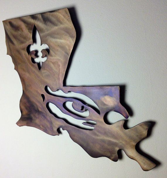 FREE SHIPPING Handmade LSU Louisiana State University Tigers