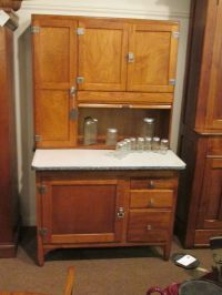 S25 antique oak sellers hoosier bakers kitchen cabinet ...