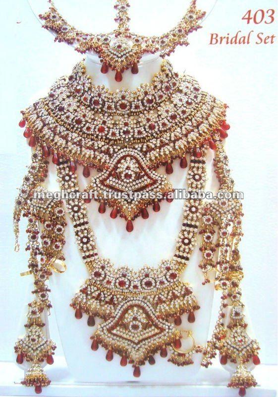 Kundan Jewellery Indian Jewelry Sets Indian Wedding