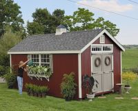Amish Garden Sheds | Home / Amish Colonial Williamsburg ...