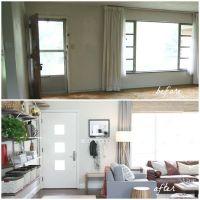 Optimized Entryway in Living Room | HOUSE*TWEAKING - THESE ...