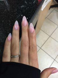Natural almond shaped nails.   hair and beauty   Pinterest ...