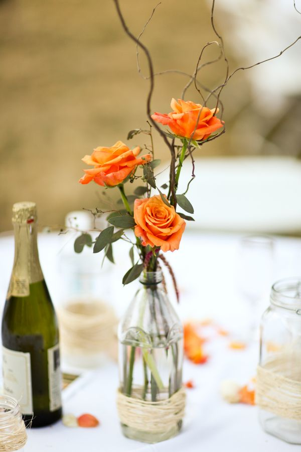 Twig Wedding Centerpieces on Pinterest  Twig Centerpieces Cupcake Wedding Centerpieces and