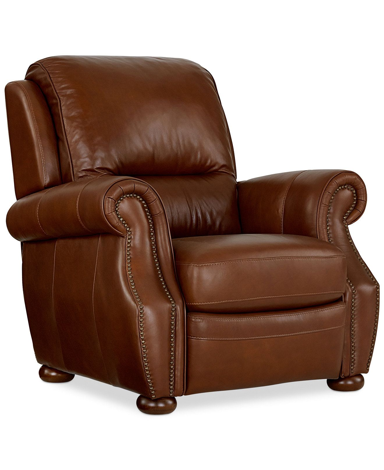Macys Leather Chair Royce Leather Recliner Chair Chairs And Recliners
