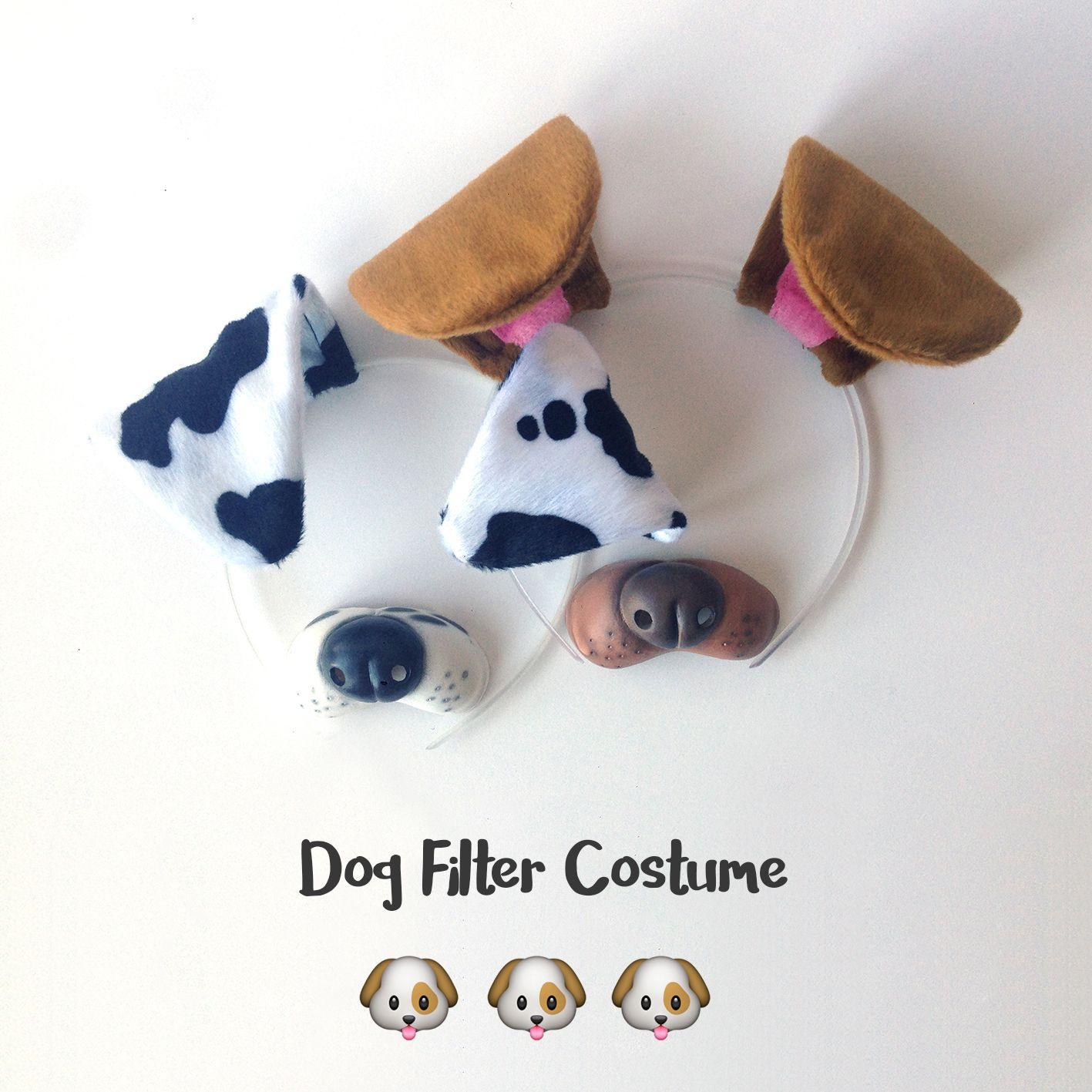 Dog Filter Costume on Amazon!