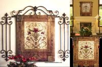 tuscan decor | Tuscan Decor Tapestry Wall Hanging | Books ...