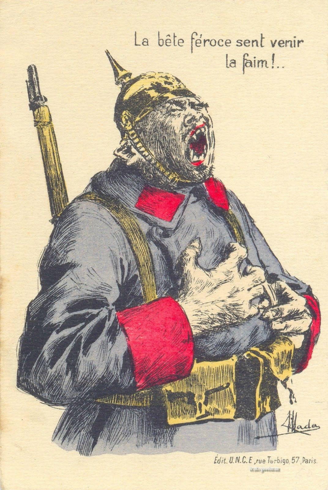 Ww1 Anti German Propaganda