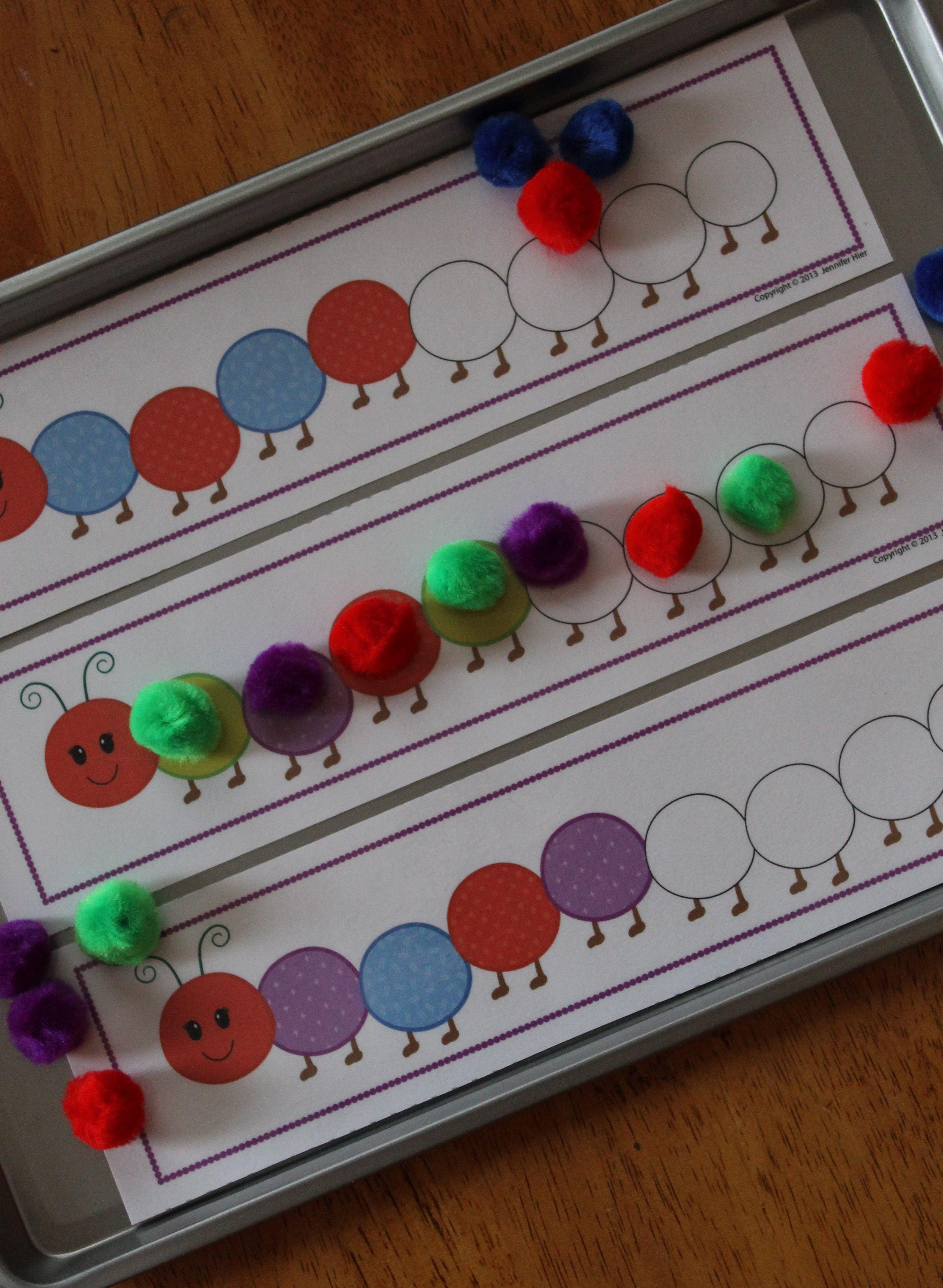 Caterpillar Pattern Activity