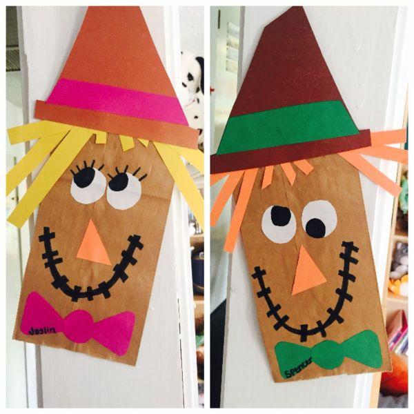 Easy Scarecrow Crafts for Preschoolers
