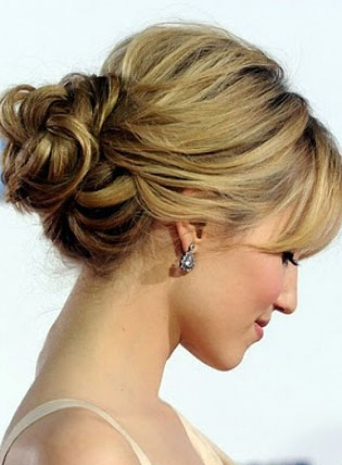 Prom Hairstyles Updos With Bangs Prom Hairstyles Ideas