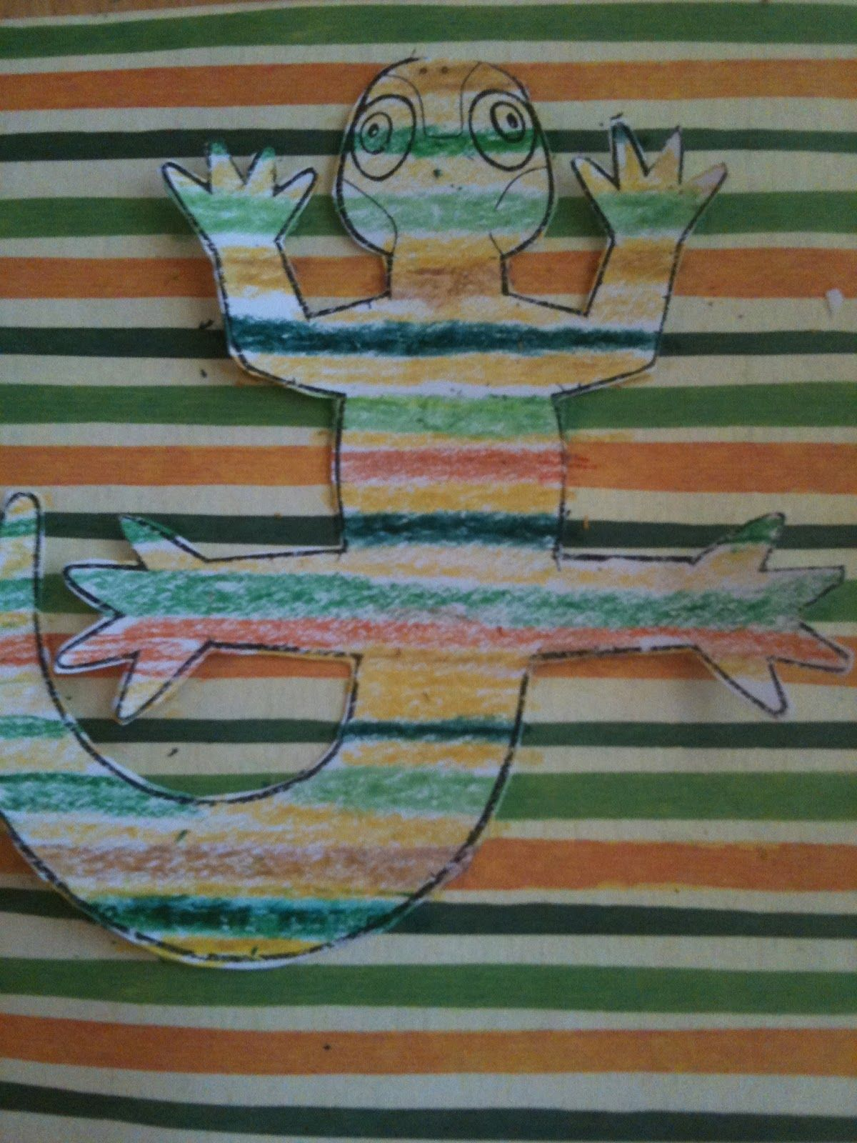 Mrs Henry S 4th Grade Class Science Journal Camouflage