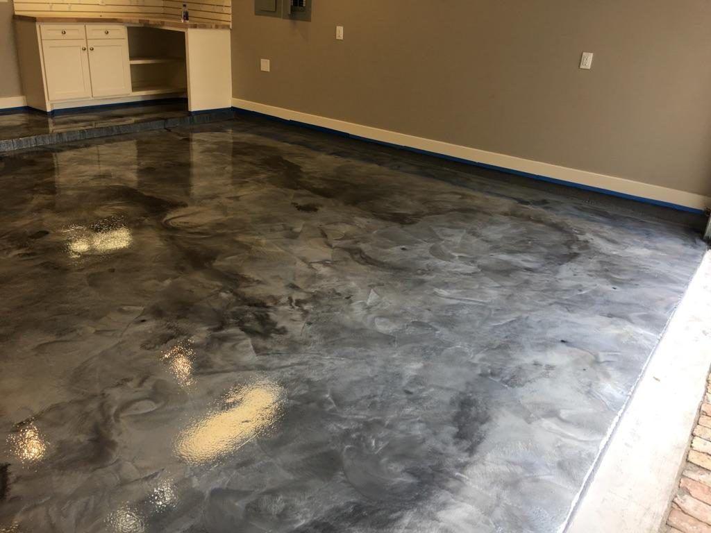 Metallic Epoxy Garage Floor Coatings  Houston Epoxy