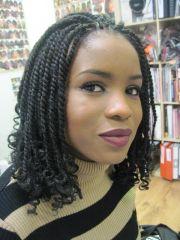 kinky twist braids hairstyles