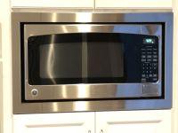 Custom trim kit for a GE microwave, model # JES2051SN2SS