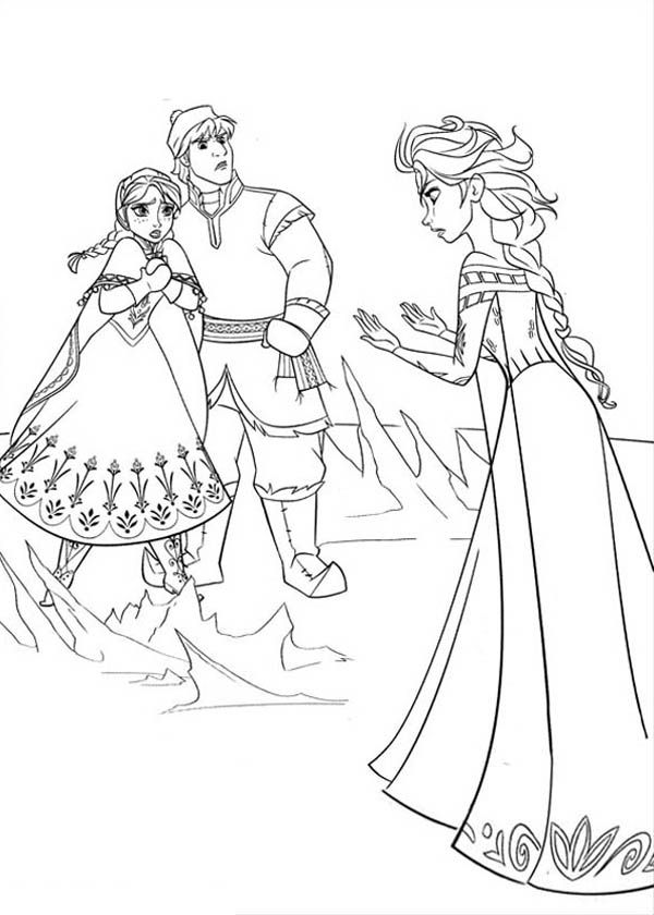 Anna-and-Kristoff-in-Arguing-with-Elsa-Coloring-Page