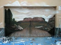 3D Garage Door Murals | Mural desert on particular garage ...