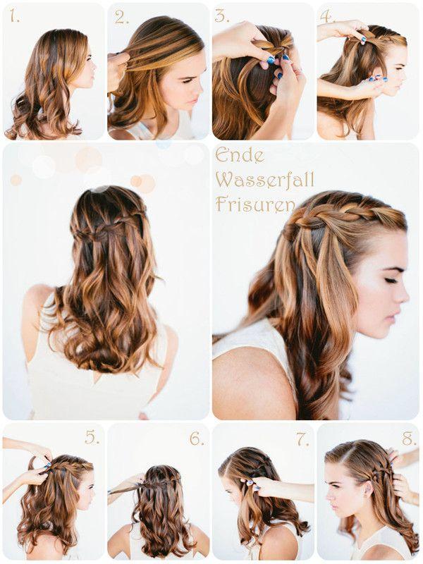 4 Beste Einfache Und Modische Frisuren Ideen Für Feste Im Herbst