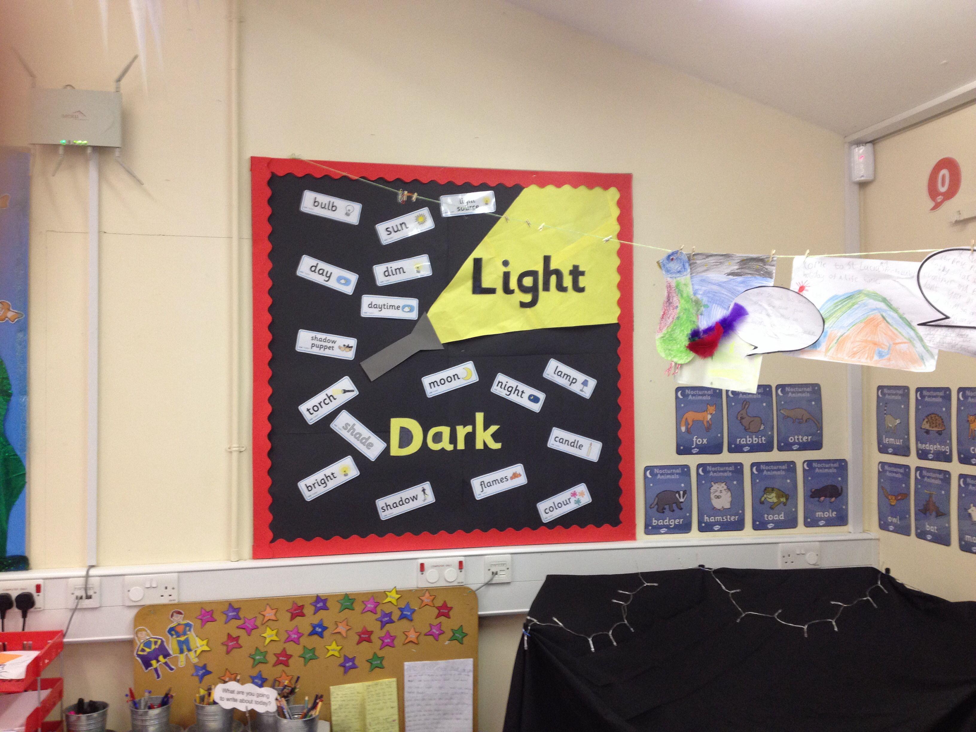 Light And Dark Display
