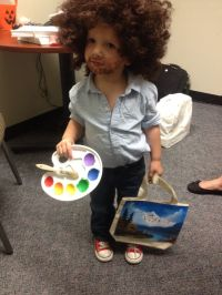 Bob Ross toddler costume | Stuff for Squatch | Pinterest ...