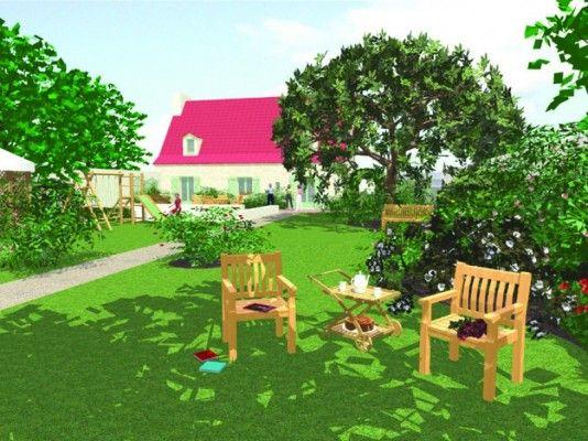 Maison Avec Grand Jardin
