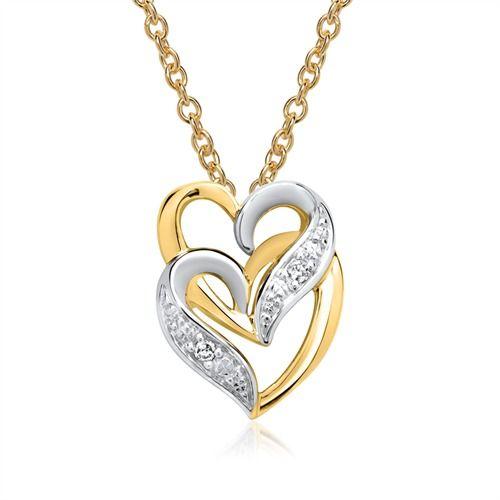 Goldkette herz diamant  Modischer Schmuck 2018