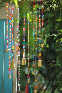 Beaded Wind Chimes Craft