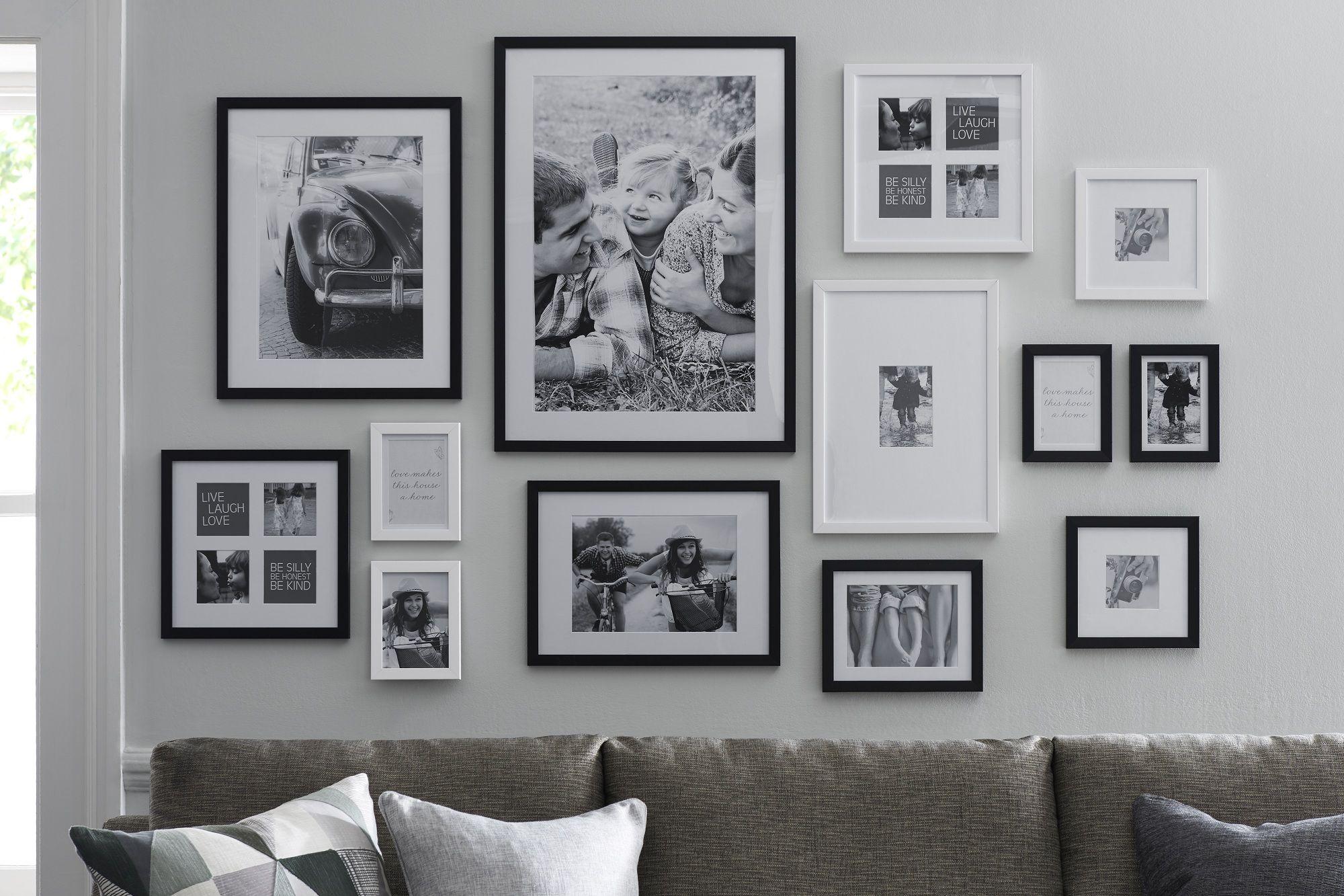 Pinterest Living Room Black And White