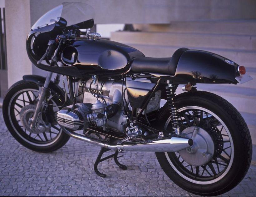 Flatracer Bmw R100 Rt Café Racer The Blaxer Bikes