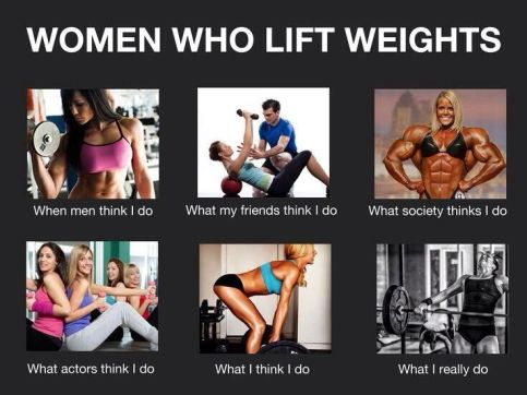 Image result for women crossfit what society thinks im doing
