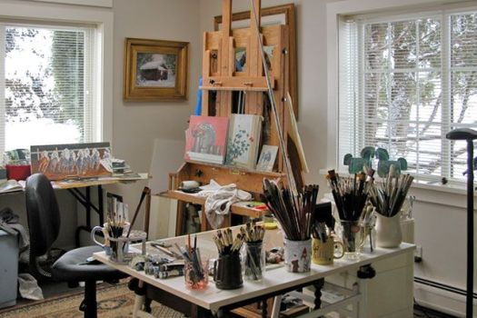 Painting Studio Setup Google Search