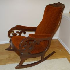 Antique Wooden Chairs Pictures Gravity Chair Repair Cord Rocking On Pinterest Upholstered