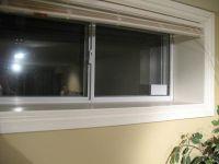how drywall meets window jamb (basement)