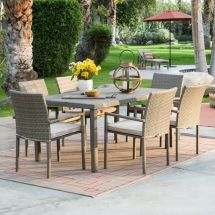 Coral Coast South Isle Weather Wicker Natural Patio