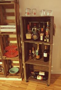 Contemporary Home Mini Bar Design Inspirations for Small ...