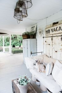 Late Summer Farmhouse Porch | Farmhouse front porches ...