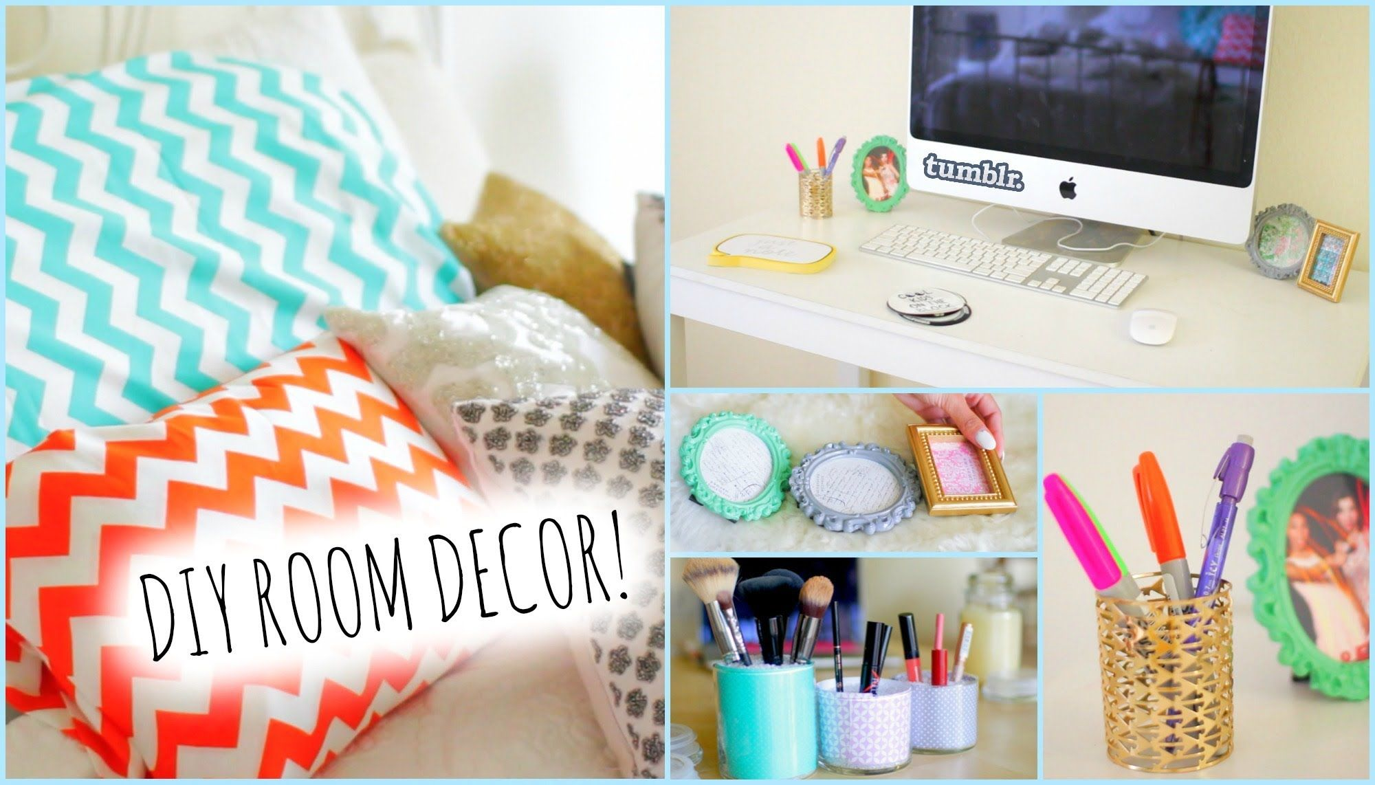DIY Room Decorations For Cheap! How To Stay Organized ☻ DIY