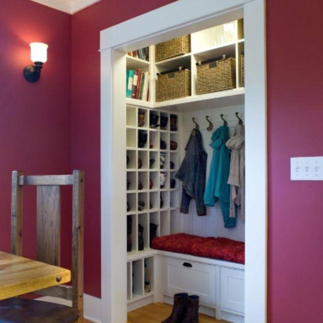 Best 25 Entry Closet Organization Ideas On Pinterest