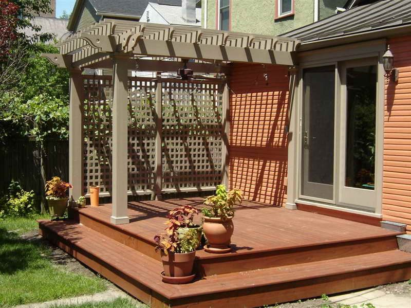 Find The Right House Deck Plans With The Plants House