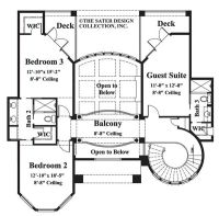 house plans with circular staircase | Central semi ...