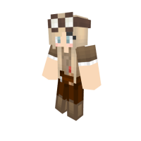 girl minecraft skins brown hair