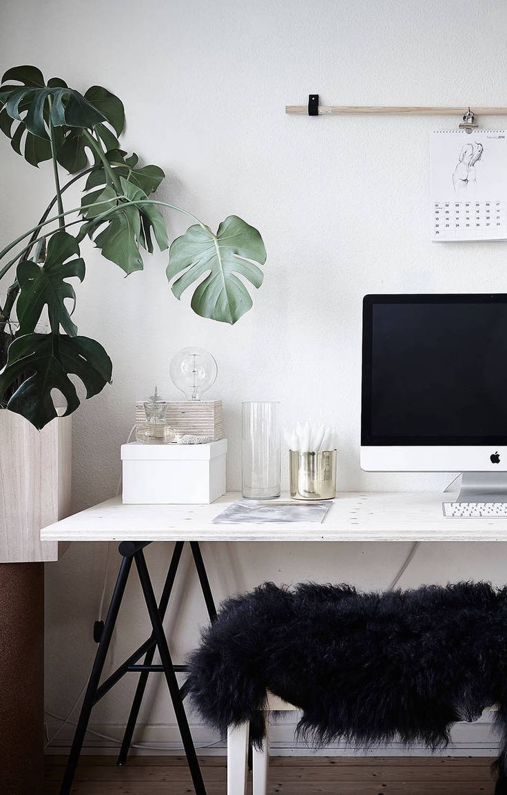 Home office and plants also images about aesthetics on pinterest rh
