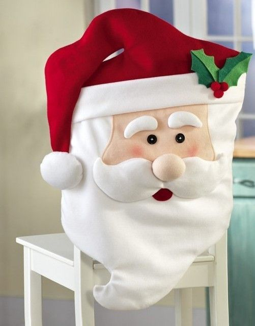 christmas chair covers pinterest purple office cubre sillas navideno navidad and kitchen