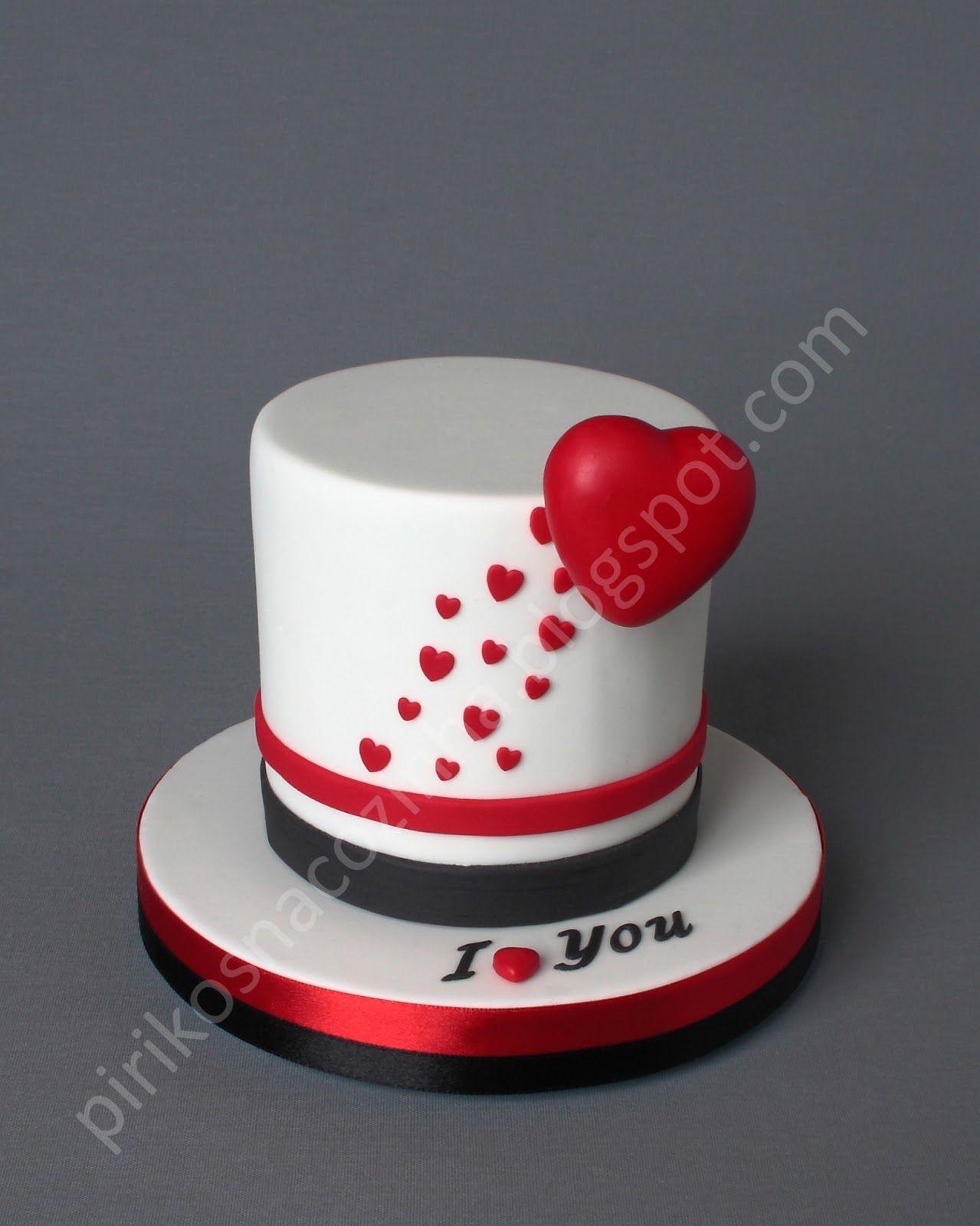 Valentine Day Cake S Facebook Pirikos
