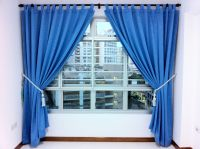 Light Blue Curtains Living Room Sky Designs | Thomas the ...