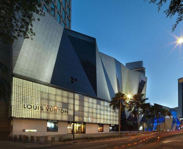 Shopping Mall Facade - Google