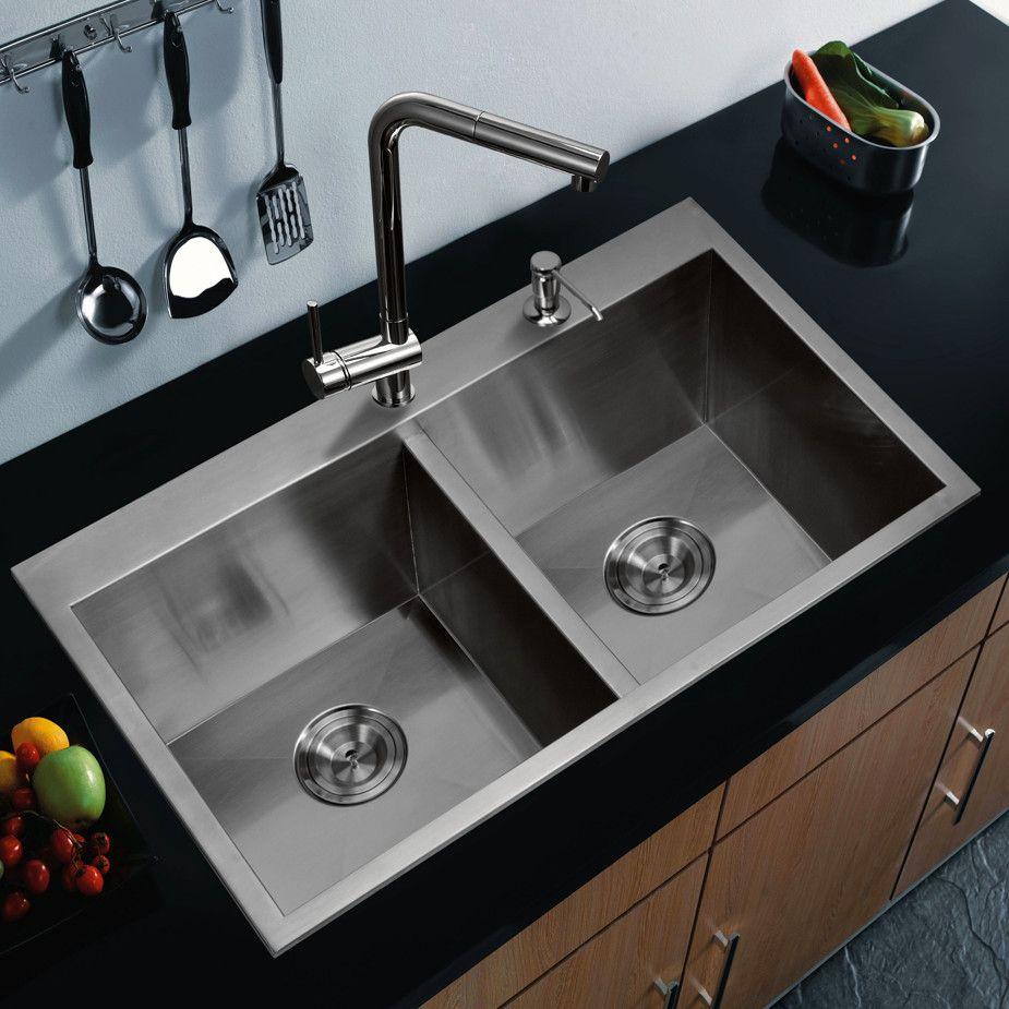 Kitchen  Wonderful Lowes Stainless Steel Undermount