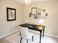 Furniture, Cream Wall Chandelier Black Desk Ideas Cheap ...